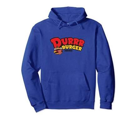 durr burger hoodie