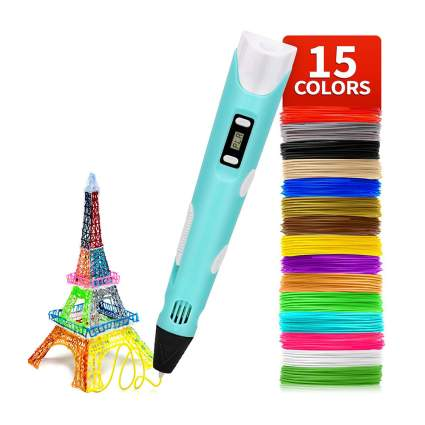 3D pen with filiments