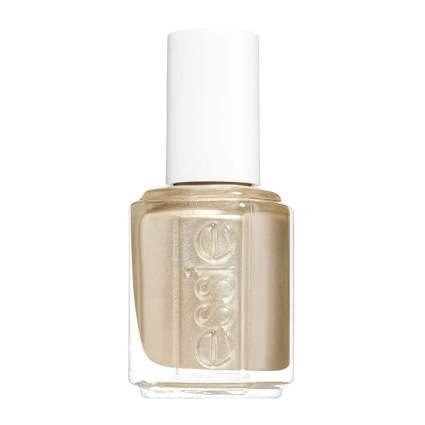 Gold metallic essie nail polish