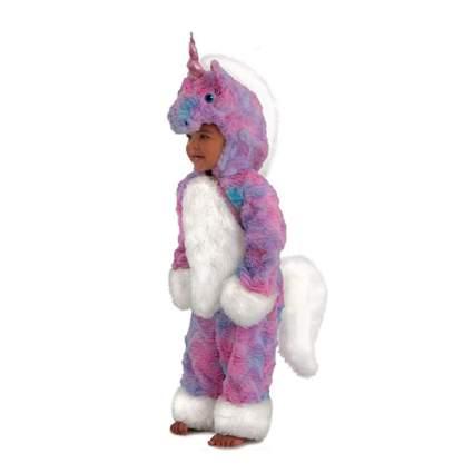 pik and purple fleece Felicity the Unicorn toddler costume