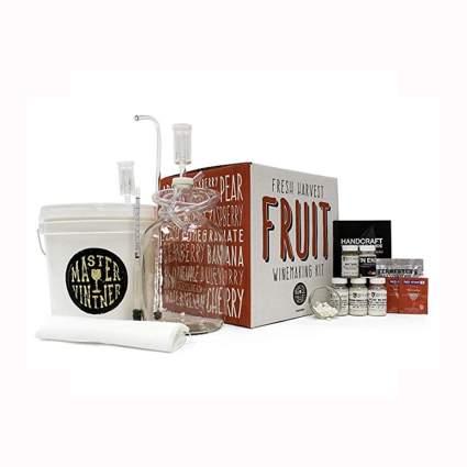 fruit wine making kit