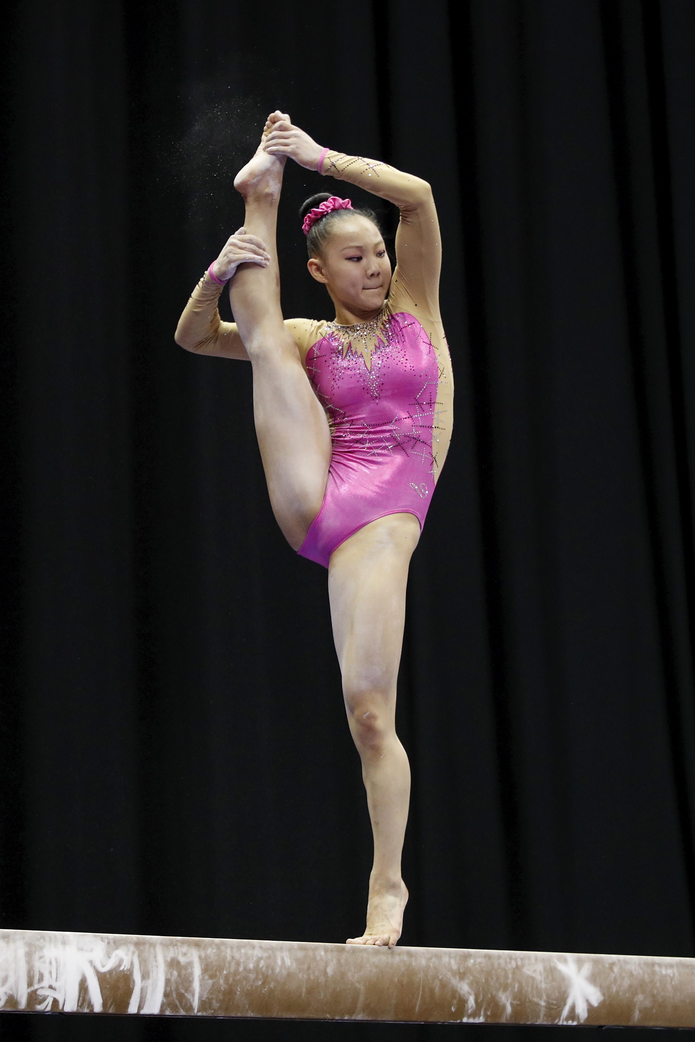 Kara Eaker Gymnastics