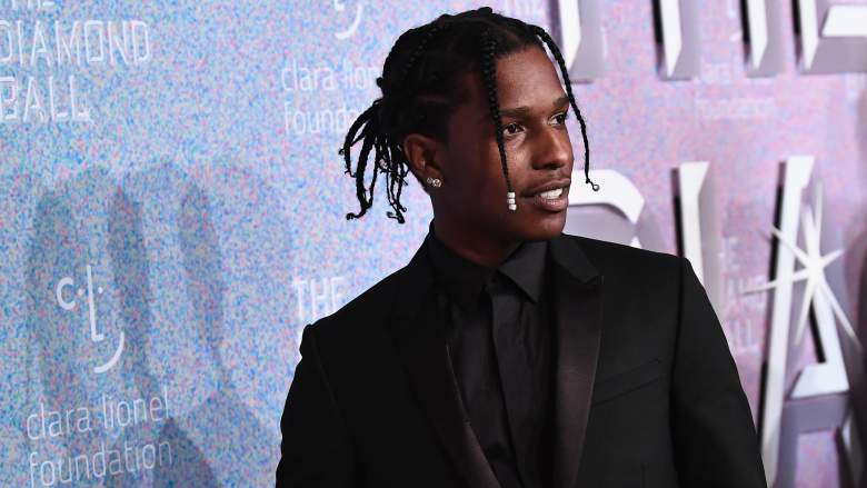 (Getty Images) A$AP Rocky @ Rihanna's Fourth Annual Diamond Ball