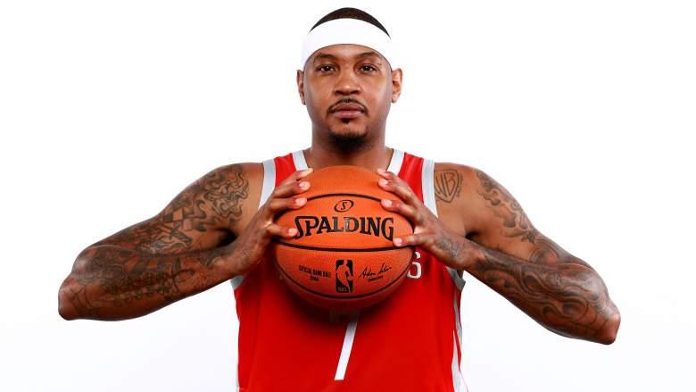Carmelo Anthony x Houston Rockets