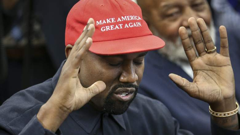 Kanye West at the White House Meeting with Donald Trump [October 11, 2018]