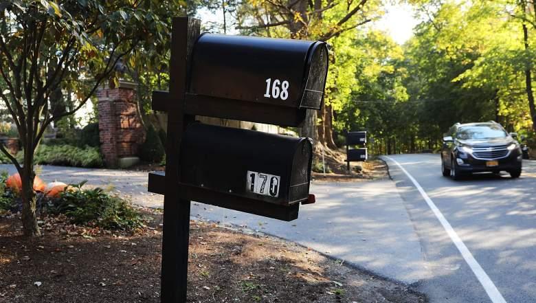 George Soros Mailbox bomb