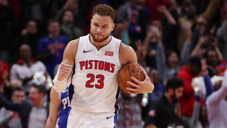(Getty Images) Blake Griffin @ Detroit Pistons vs Philadelphia 76ers [October 23, 2018]