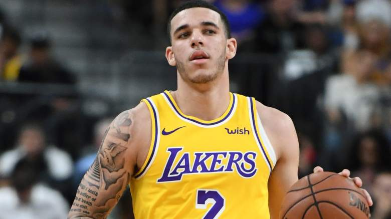Lonzo Ball S Baby Lakers Pg Posts Adorable Photo Of Zoey Heavy Com