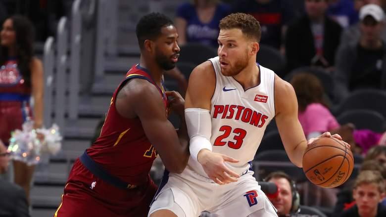 Pistons Power Forward Blake Griffin