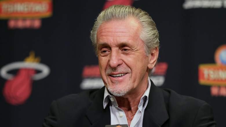 Pat Riley Miami Heat Salary Cap Space