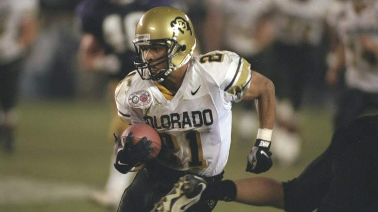 Getty Images- Rae Carruth @ University of Colorado [December 30, 1996]