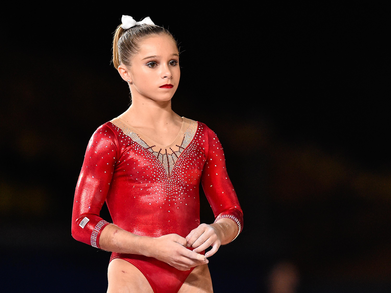 Ragan Smith Gymnastics Height