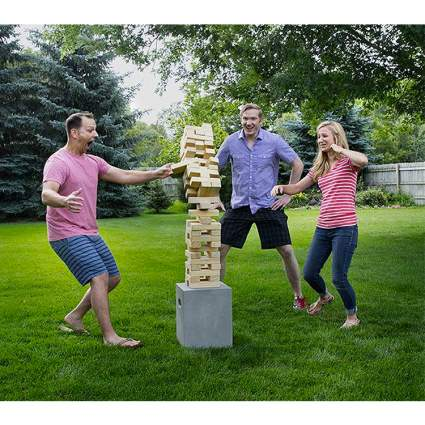 giant jenga game gift