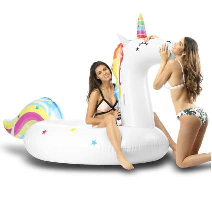 giant unicorn floaty for pool