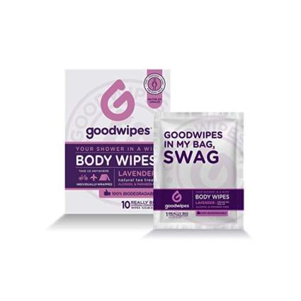 lavendar scented adult body wipes