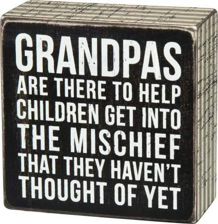grandpa wall art