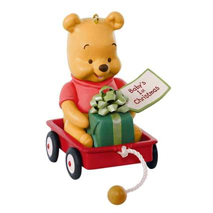 winnie the pooh baby's first christmas ornament