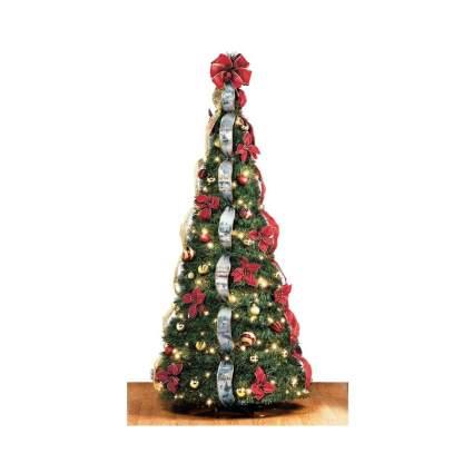 hammacher schlemmer pre-lit christmas trees
