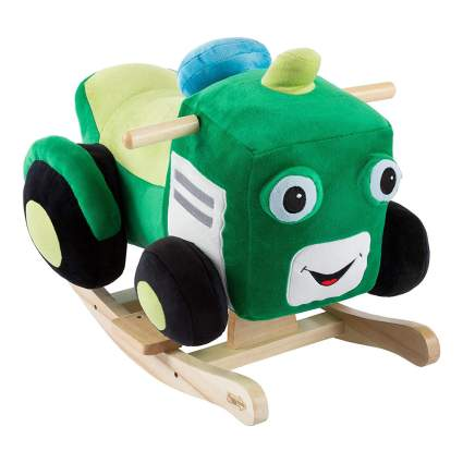 Tractor rocking horse