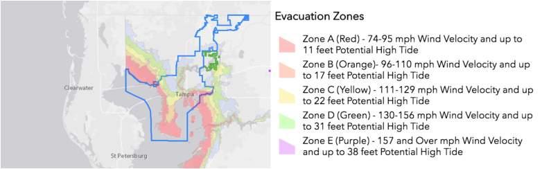 Tampa evacuations hurricane michael