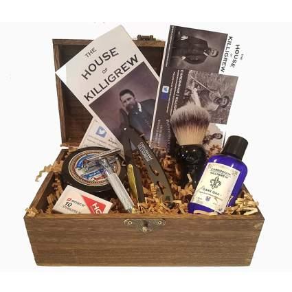 vintage shave kit