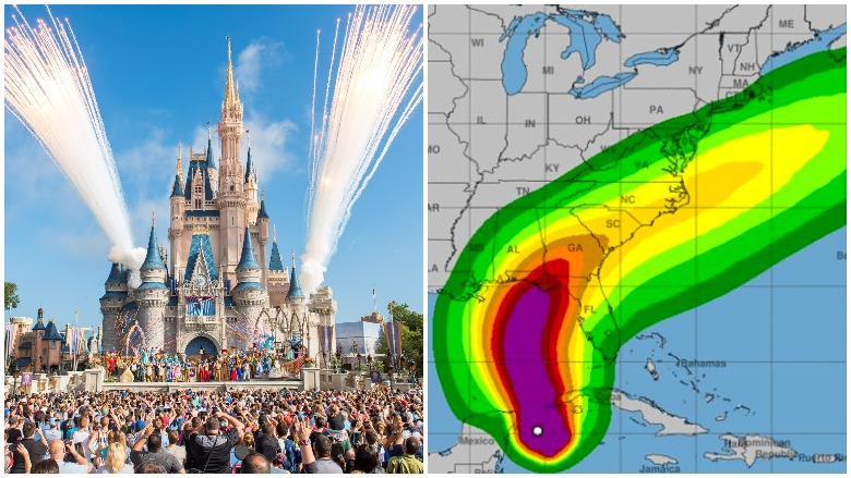 Hurricane Michael Disney World