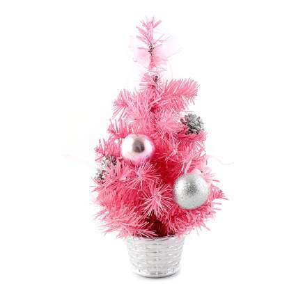 Tiny pink Christmas Tree