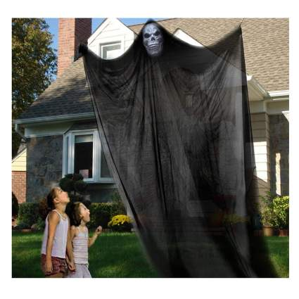 large hanging ghost decoration