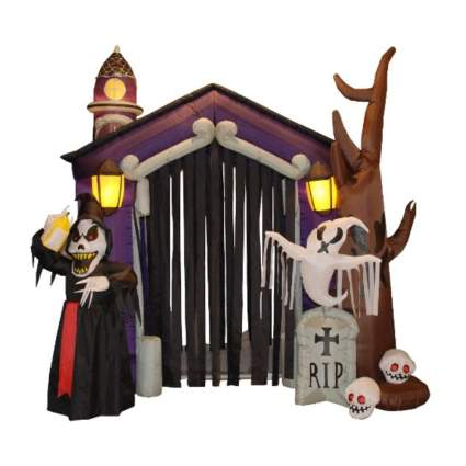 inflatable grim reaper ghost arch
