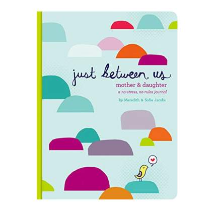 just between us no stress journal christmas gift