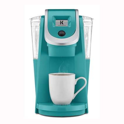 turquoise k cup coffee maker