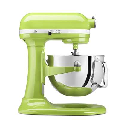 green kitchenaid lift stand mixer