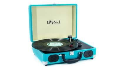 lpno1 suitcase turntable