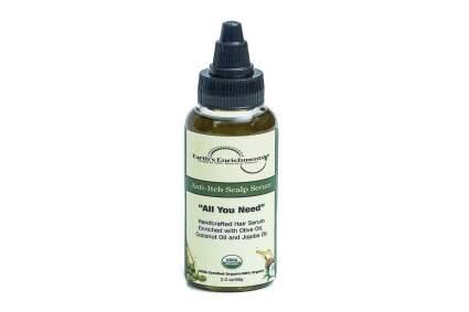 Green and black bottle of moisturizer