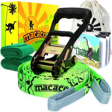 macao slackline set