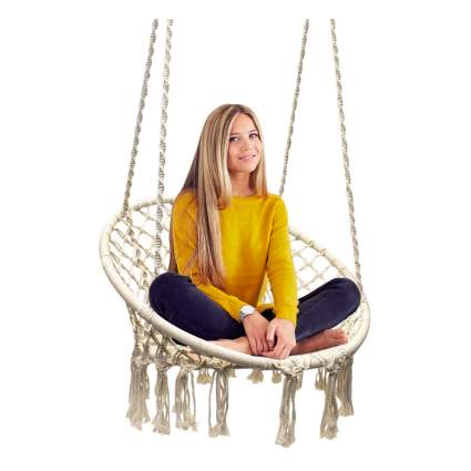 macrame hammock chair for teen girls