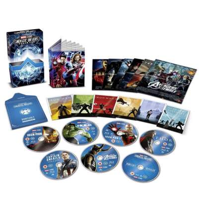 Marvel Studios Cinematic Collection Phase 1 (Blu-ray)