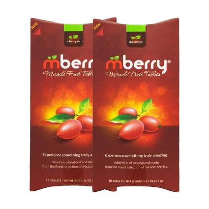 Two pack of miracle berry tablets