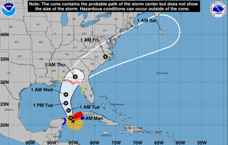 Hurricane Michael Tampa