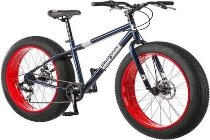 mongoose dolomite fat tire mountain bike