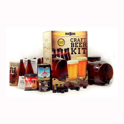 premium beer home brewing kit