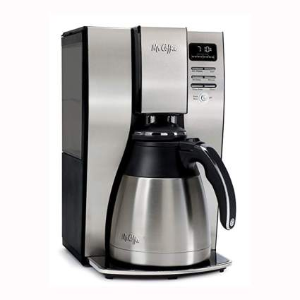 stainless steel thermal brew coffee maker