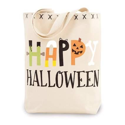 Mud Pie halloween candy bag