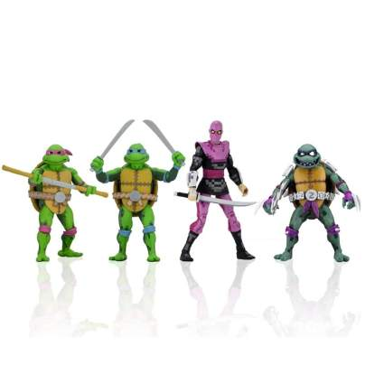 NECA TMNT Turtles in Time