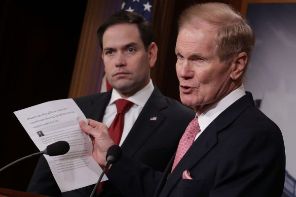 Bill Nelson and Marco Rubio
