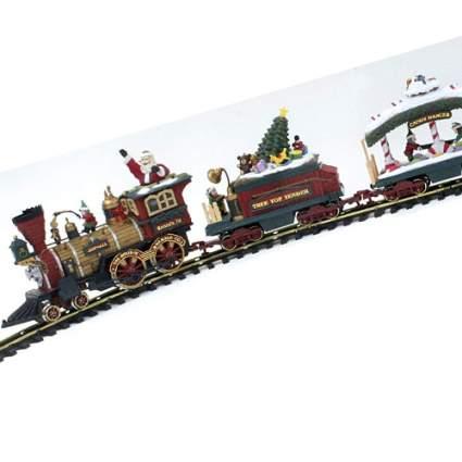 new bright christmas train set