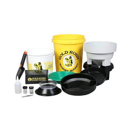 nugget bucket gold panning kit