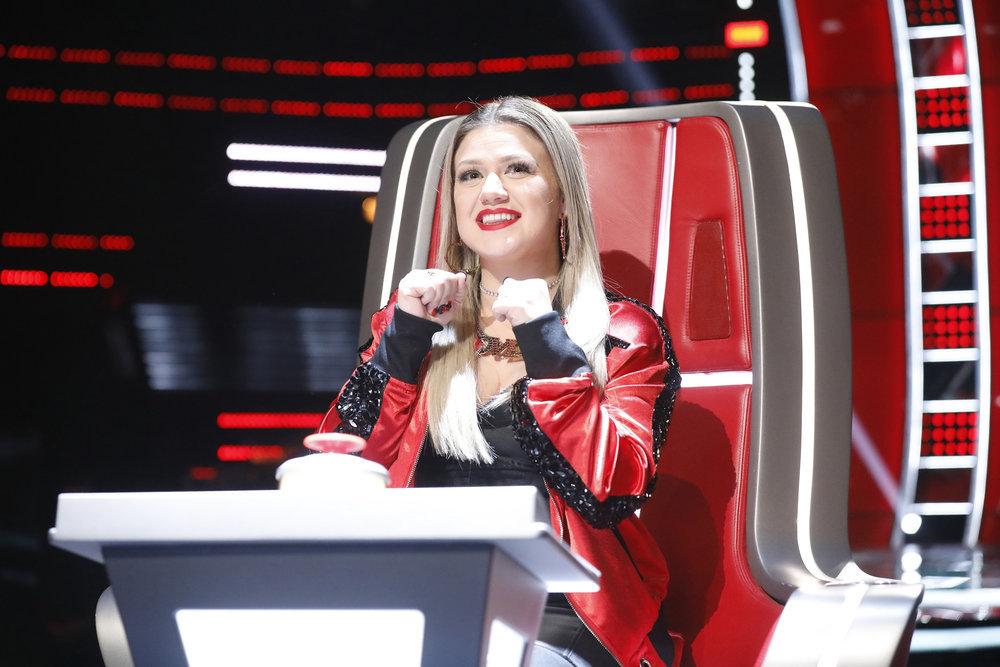 Kelly Clarkson The Voice Team 2018