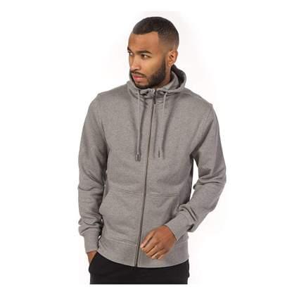 gray cotton hoodie