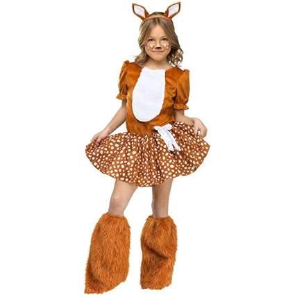 oh deer cute costume for girl
